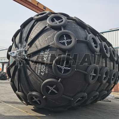High-Pressure-Anti-Explosion-Pneumatic-Ship-Rubber-Fender-Yokohama-Type-Fender