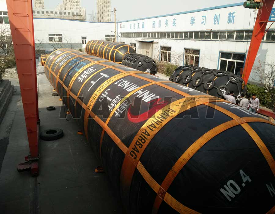 南海打捞橡胶气囊