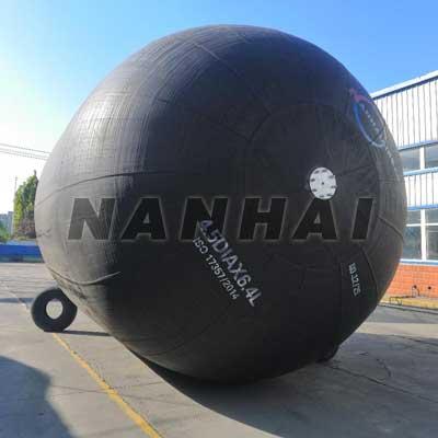 Nanhai-High-Pressure-Anti-Explosion-Pneumatic-Ship-Rubber-Fender-Yokohama-Type-Fender-for-Sts