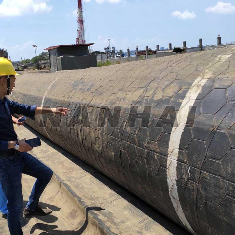 Airbag for Ship Lifting and Docking Ship LaunchingFloatingBuoyancy