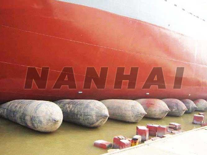 充气-天然-橡胶-重型-起重-船舶-下水-安全气囊-长青-制造商-海洋领域