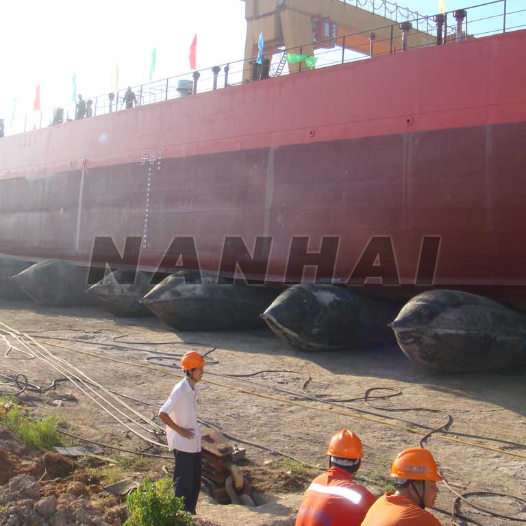 Inflatable Ship Launching Airbag Heavy Lifting Airbags with Various Specification Marine Airbag