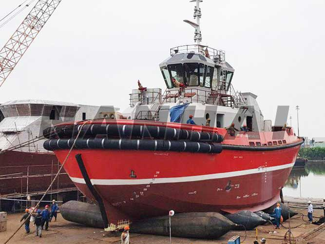 船用起重安全气囊船舶下水橡胶安全气囊船艇气动浮动安全气囊销售