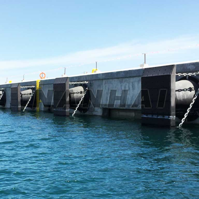 CCS-Certified-Nr-EPDM-Marine-cone-Shape-Rubber-Fender-Semi-Circular-Fender-for-Dock,-Ship-and-Shipyards