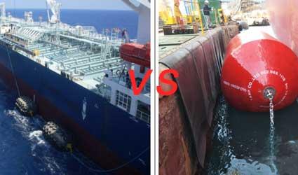 foam-filled-fenderS-VS-pneumatic-fenderS